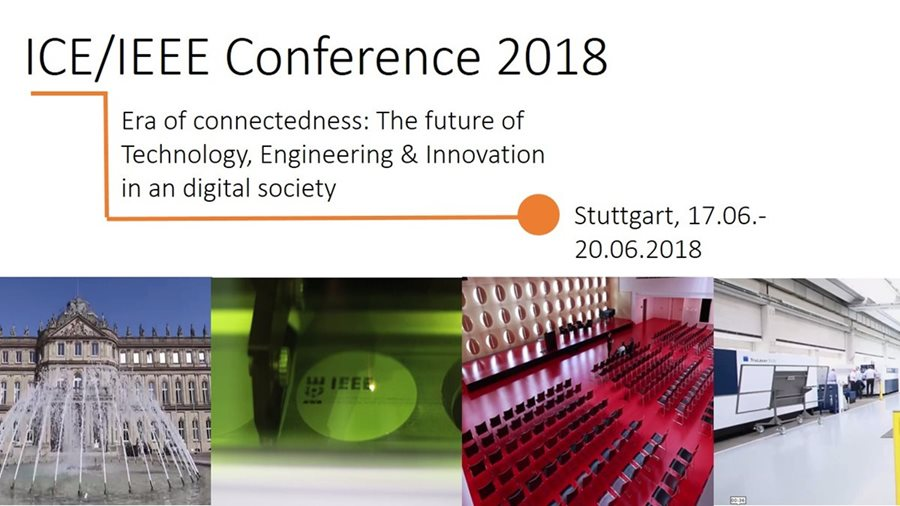 Plexus Tech hat an der 24. ICE / IEEE ITMC Technology Management Konferenz in Stuttgart teilgenommen
